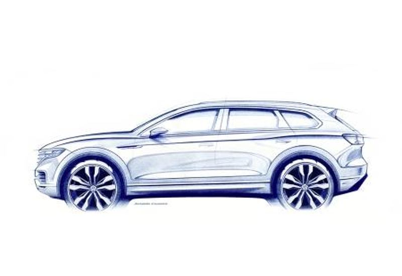 """Leading the Way"" - der neue Volkswagen Touareg"