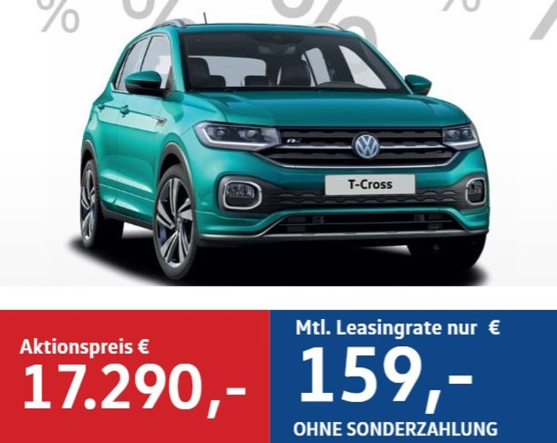 Stricker´s Leasing Wochen! T-Cross 159€ mtl.